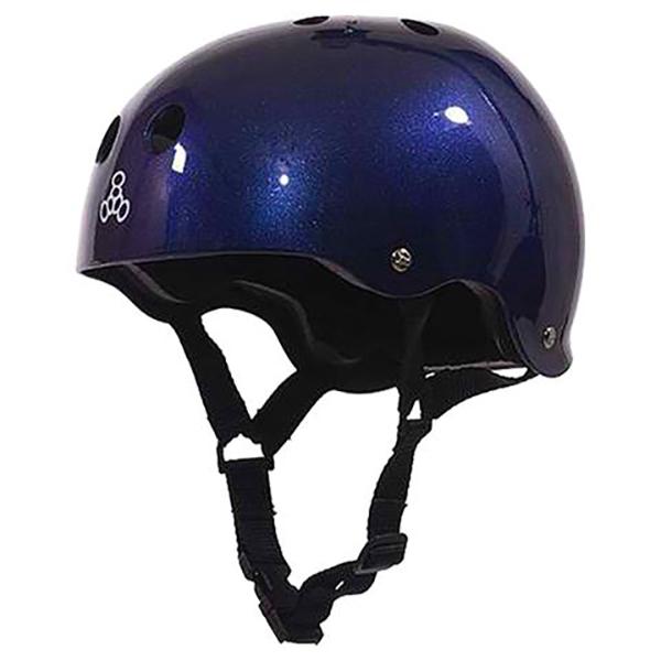 halo blue metallic helmet