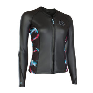 2019 Ion Neo Zip Top Women LS 2/1 CSK (kitesurfing apparel)