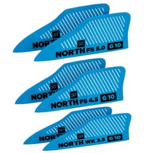 North Kiteboarding Finset G10 (Pair) (kitesurfing gear)