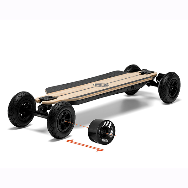 GTR Carbon 2-in-1 Electric Skateboard