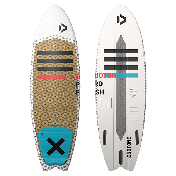 2020 Duotone Pro Fish. Kite surfboard. Lightwind kite surfboard. Duotone Pro board. Duotone Surfboard. Duotone Kiteboards