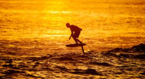 Fan Surf Foil Boarding