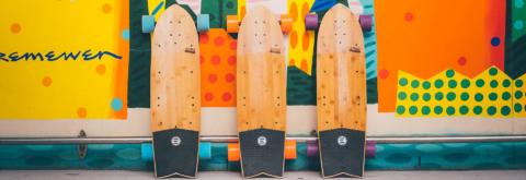 New Evolve GTR Carbon, GTR Bamboo, and Stoke Skateboards