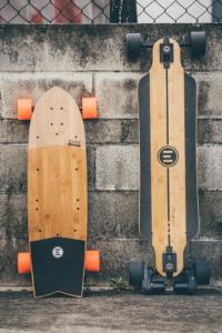 Evolve Skateboards. Short deck vs Long Deck. Commuter Electric Skateboards.