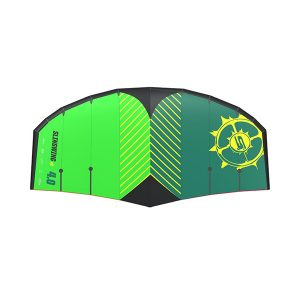 Sling wing v2 green Top (foilboarding, foil kite)