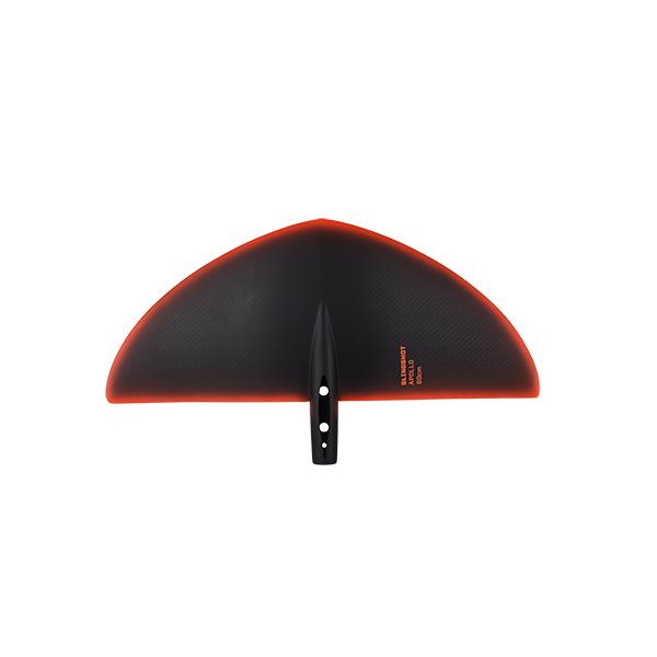 2021 slingshot apollo 60 top view (2021 slingshot hg carbon rear wing stabiliser) (foilboarding, foil wing)