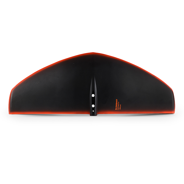 top view of 2021 slingshot infinity carbon wing (foil wing, foilboarding)