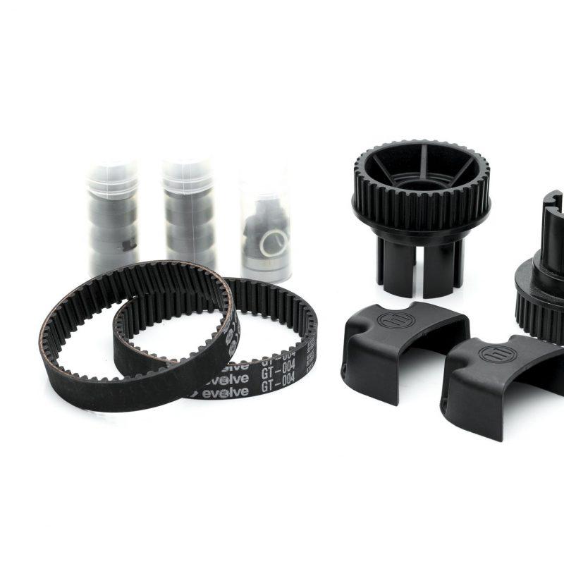 EVOLVE/ABEC F1 107MM WHEELS kit